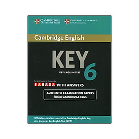 Cambridge English KEY - Key English Test 6 with Answers