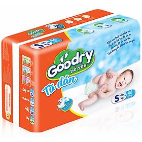 Bộ 2 Gói Tã Dán Goodry Bé Yêu S46 (<6kg)-1