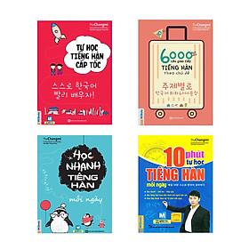 Tự học nhanh tiếng Hàn cấp tốc trong 60h có kèm App di động và Web ( Tự học tiếng Hàn cấp tốc + 6000 câu giao tiếp tiếng Hàn theo chủ đề + Học nhanh tiếng Hàn mỗi ngày + Tặng kèm 10 phút tự học tiếng Hàn mỗi ngày)