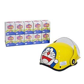 Combo 10 hũ Babi Bird 42g- Nước Yến Sào Cho Trẻ Em Sợi Yến Thật 100% - Tặng Mũ Bảo Hiểm Trẻ Em Cao Cấp