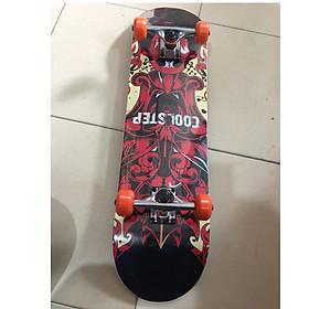 Ván Trượt  Skateboard  Gỗ 1214 trục hợp kim + gỗ ép 3 lớp