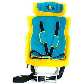 Ghế Ngồi Xe Số Beesmart X2 BEEX2-1 - Xanh + Tặng Kèm Nón bảo vệ đầu cho bé - Mẫu Ngẫu Nhiên