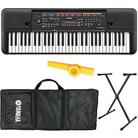Bộ Đàn Organ Yamaha PSR-E263 (Keyboard PSR E263 - Có Tem Chống Hàng Giả Bộ CA - Đàn, Chân, Bao, Nguồn, Kèm Kèn Kazoo)