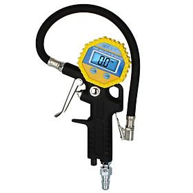 Cool Lapp (KULAIPU) digital display air gun car tire pressure gauge tire pressure gauge tire pressure gun high-precision car tire pressure gauge tire pressure monitoring air gun KLP-86002 yellow black