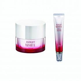 Bộ sản phẩm dưỡng trắng da Astalift (Astalift White Cream 30g + Astalift White Perfect UV Clear Solution SPF50+/PA++++ 30g)