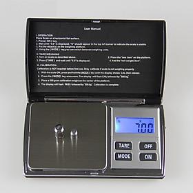 Cân tiểu ly điện tử tải trọng 200g sai số 0.01g Model DH-C01 (tặng kèm miếng thép đa năng 11in1)