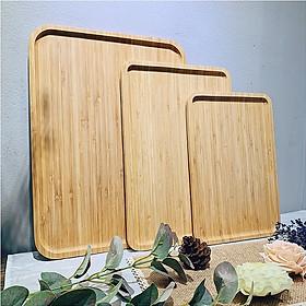 Khay gỗ chữ nhật nhiều cỡ