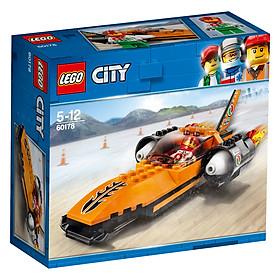 Mô hình Lego City - Xe Siêu Tốc Độ 60178