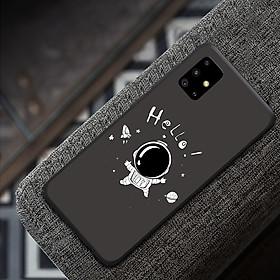 Ốp điện thoại dành cho máy Samsung Galaxy A51 - Lời chào từ vũ trụ MS ACQTU009