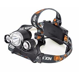 Đèn Pin Đội Đầu 3 Bóng Siêu Sáng Sử Dụng Pin Sạc Và Sử Dụng Từ 5-8h Liên Tục Với 3 Cấp Độ Sáng Thông Minh Chiếu Sáng Trong Không Gian Rộng