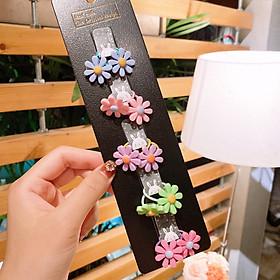 Set 5 dây buộc tóc cho bé Hoa Cúc Nhỏ cực xinh