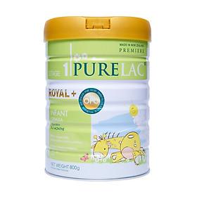 Sữa bột công thức PureLac nhập khẩu New Zealand hộp 800gr cho bé từ  0 đến 6 tháng tuổi