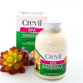 Muối khoáng tắm trị mụn tẩy da chết Crevil Spa Badesalz 600g (Phù hợp cả cho bà bầu và mẹ sau sinh)