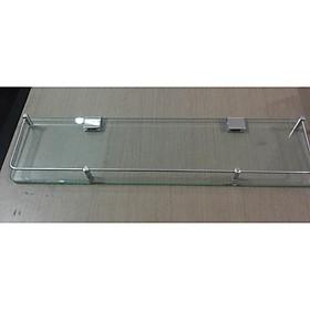 Kệ kính nhà tắm inox 304 dùng để đựng dầu gội, sữa tắm, mỹ phẩm,...