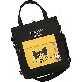 Túi Vải Tote XinhStore Hình Mèo