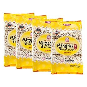 4 Gói Bánh Gạo Cốm Mammos Hàn Quốc (100g x 4)