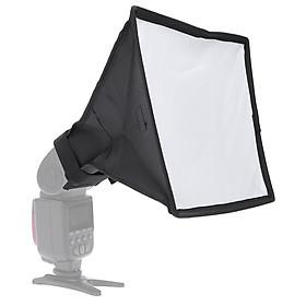 Bộ Softbox Mini Chụp Ảnh Cầm Tay Andoer Cho Máy Đèn Flash DSLR (20x30cm/7.9x11.8in.)