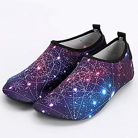 Giày đi biển màu xanh đen SA014