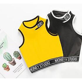 Áo body lửng thời trang thể thao cho bé gái - Quần áo trẻ em - SockiMall (200544.B)