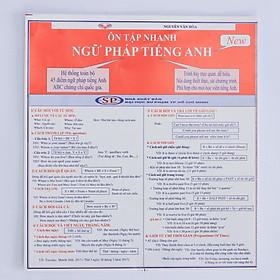 Ôn tập nhanh Ngữ Pháp Tiếng Anh (5 bản/ gói)