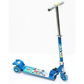 Xe trượt scooter ba bánh phát sáng màu Xanh Dương