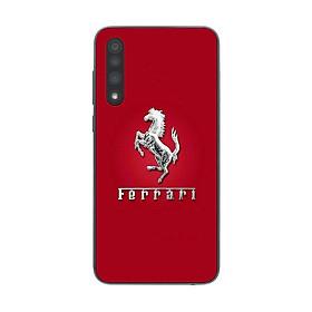 Ốp lưng dành cho điện thoại Vsmart Live in họa tiết Logo F E R R A R I