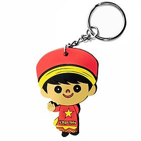 Móc khóa lưu niệm Cậu bé mặc áo dài Việt Nam