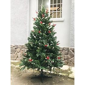 cây thông noen 3 lá cao 180cm(tặng kèm 2 dây kim tuyến và 1 ngôi sao)