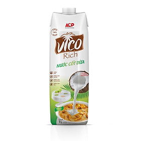 HỘP NƯỚC CỐT DỪA UHT VICO RICH 1L
