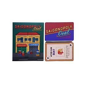 Bộ Bài Tỷ Phú Giấy Sài Gòn //  Saigonopoly Deal
