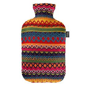 Túi chườm nóng lạnh Fashy Đức dòng bọc thổ cẩm phù hợp cho người lớn