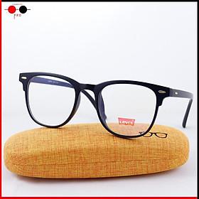Gọng kính nhựa dẻo lắp sẵn tròng 0 độ chống UV Levi's TR8526 giá tốt kèm hộp thời trang