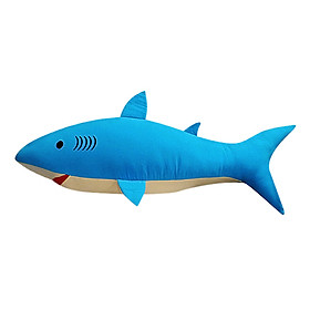 Gối ôm cá mập Hometex (70 x 25 x 25 cm) -  Xanh biển