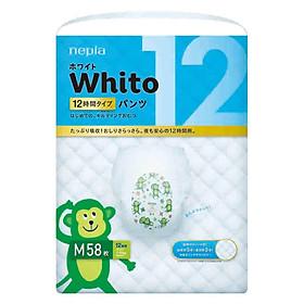 Tã quần siêu cao cấp Nhật Bản Whito (M, 58 miếng)-0