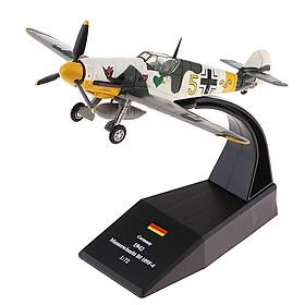 1: 72 Quy Mô Bf-109/Tôi-Quân Sự Năm 109 Máy Bay Tiêm Kích Diecast Máy Bay Trực Thăng Đồ Chơi Quà Tặng