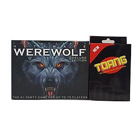 Combo boardgame Thẻ bài Ma sói Ultimate + Bài Toang Đại Chiến
