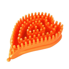 Breast massage brush