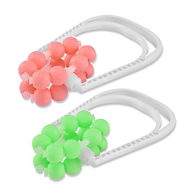 16 Roller Ball Leg Slim Massager Body Shapely Roller Yoga Fitness Ring Clamp Mucsle Relaxation Massage Stick-6
