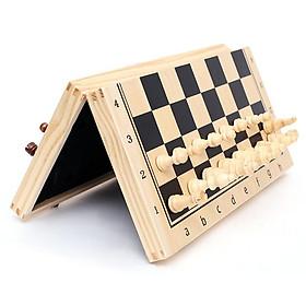 Bộ cờ vua bằng gỗ tiêu chuẩn quốc tế có nam châm - Hàng xuất Nga