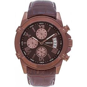 Đồng hồ Neos N-40653M nam dây da