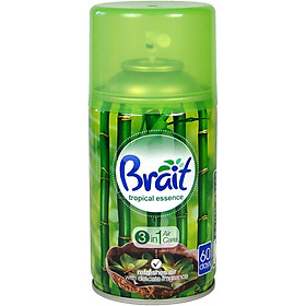 Bình xịt tinh dầu thiên nhiên Brait Tropical Essence 250ml PTT005189 - hương tre tươi