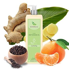 Dầu Massage Body Biyokea Luxury - Comforting Oil (thoải mái, an ủi) -1000ml