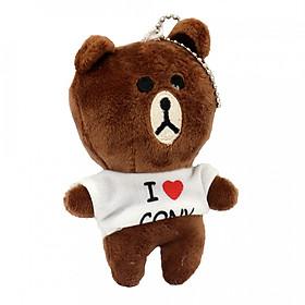 Hình đại diện sản phẩm Móc Khóa Gấu Bông Hình Gấu Brown