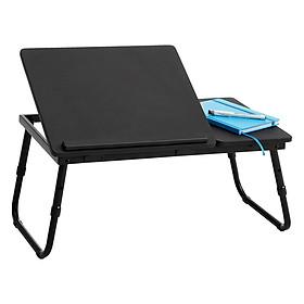 Bàn Laptop Mern Basic JYSK 3635104 (60 x 23/27 x 34 cm) - Đen