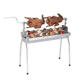 Bếp nướng than hoa 2 chế độ nướng GS1024, Cỡ Đại, Tặng kẹp gắp nướng thịt