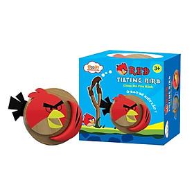 Đồ Chơi Gỗ - Chim Đỏ Cáu Kỉnh