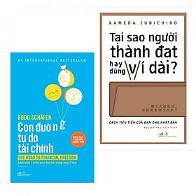 Combo 2 Cuốn Kỹ Năng Quản Lý Tài Chính Cá Nhân: Con Đường Tự Do Tài Chính + Tại Sao Người Thành Đạt Hay Dùng Ví Dài (Tặng kèm bookmark Happy Life) - Cẩm Nang Cho Bạn Trẻ Nắm Gọn Tiền Bạc Trong Tay
