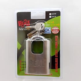 Ổ khóa chống cắt REAL bọc inox SAC70