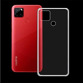 Ốp Lưng Silicone Dẻo cho điện thoại REALME C12 - Ốp trong suốt, bảo vệ điện thoại - Hàng Chính Hãng
