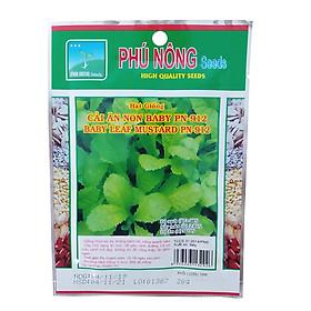 Hạt Giống Cải Ăn Non Baby Phú Nông Gói 20 Gram